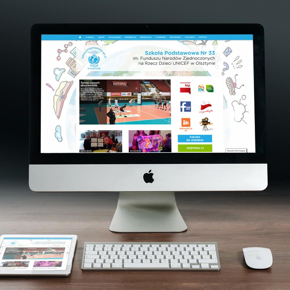 SP33 - strony internetowe