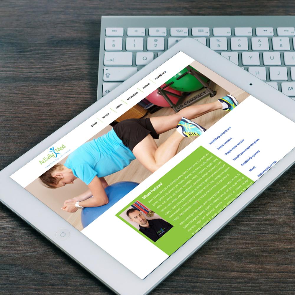 rehabilitacja - strony internetowe
